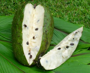 Owoc grawioli leczy raka