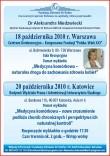 Wykład dr A. Niedzwiedzki - Medycyna komórkowa